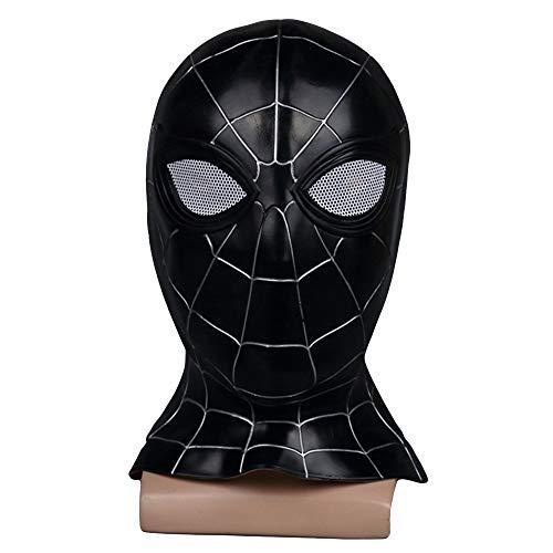 Avengers 3 Cosplay Kostüm Zubehör Film Charakter Requisiten Erwachsene Kinder Halloween Party Latex Gesichtsmasken,Black-OneSize ()
