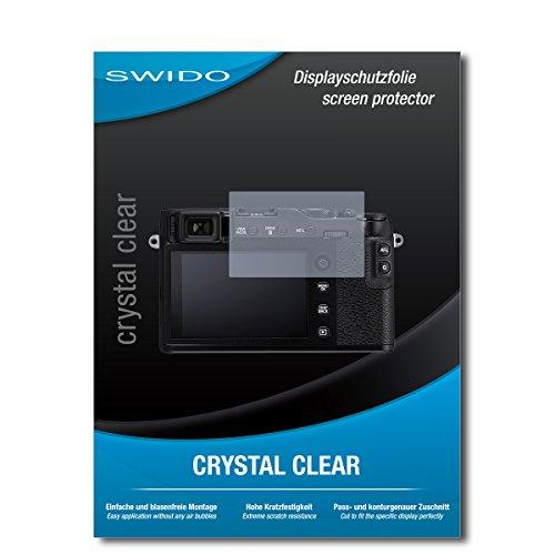 """2 x SWIDO® Protector de pantalla Fujifilm X-E3 Protectores de pantalla de película """"CrystalClear"""" invisible"""
