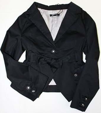 DKNY Kids Girls Black Short Blazer Size 8 years