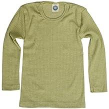 cce5d888ee388 Cosilana, Kinder Unterhemd langarm, 45% kbA Baumwolle, 35% kbT Wolle,