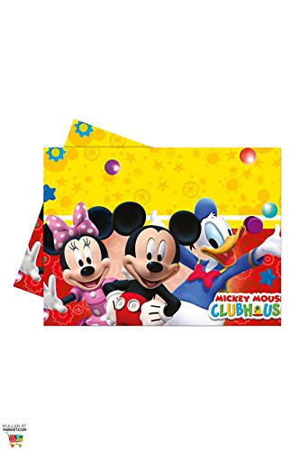 Disney Micky Maus Clubhouse Party Tischdecke Plastik 120x180cm