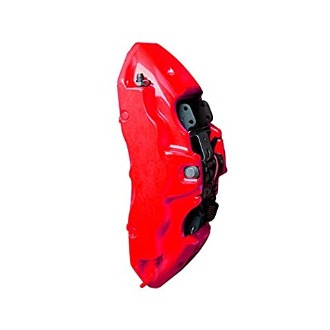 Foliatec F2185 Bremssattel Lack 4 Komponenten, Neon Rot