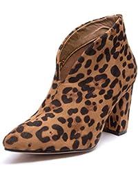 it Stivali Da E Shoes Leopard Donna Amazon 37 Scarpe OZPxq