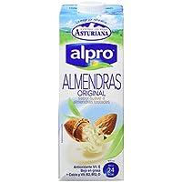 Alpro Central Lechera Asturiana Bebida de Almendra - Paquete de 8 x 1000 ml - Total