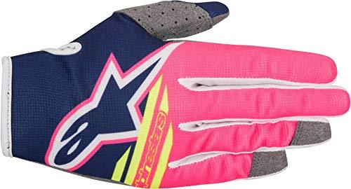 Alpinestars Mx Guanti cross radar Flight Gloves, MX Crossha, blau,weiß,pink, XX-L