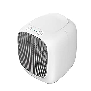 D.ragon Portable Air Conditioner, Humidifier Purifier, Mini Air Cooler Cooling Fan, Personal USB Air Cooler for Personal Spaces Such As Offices, Indoors, Outdoor