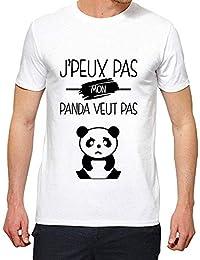 YouDesign Sweat shirt imprimé citation j peux pas je promene mon panda ref  2326 · EUR 13,99 · T-Shirt - J Peux Pas Mon Panda Veut Pas - Homme 5201420735c1