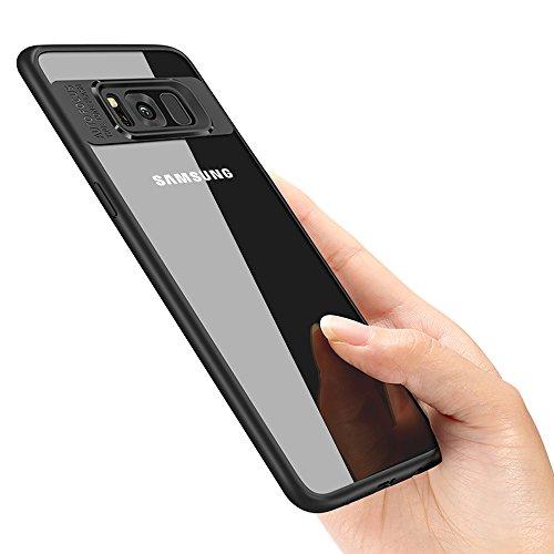 vitutech Samsung Galaxy S8 Schutzhülle, Galaxy S8 Handyhülle TPU Bumper Case Premium Kratzfest Ultra Dünn Stoßfest Hülle für Samsung Galaxy S8 Case Cover - Schwarz