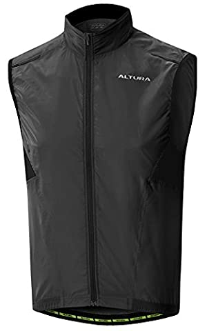 Altura Airstream Vest - Black, Medium / Bicycle Cycling Cycle Biking Bike Riding Ride Mountain MTB Roadie Road Commuting Commuter Commute Gilet Multi Sport Outdoor Clothing Clothes Apparel Attire Gear Wear Kit Breathable Lightweight Exercise Adult Unisex Man Men Woman Women Male Female Ladies Lady Jersey Top T Tee Torso Upper Body