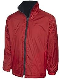 Para niños Plain chaqueta de forro polar Reversible perchero de pared de resistente al agua para