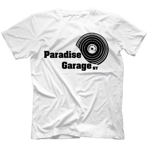 Paradise Garage T-Shirt in 11 Farben Weiß