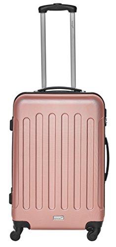 Packenger Reisekofferset Travelstar 3er-Set in verschiedenen Farben (Mauve) - 4
