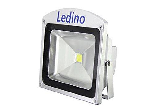 Ledino Ledisis High Power LED-Flutlichtstrahler, 50 W kalt/warmweiß Kaltweiß