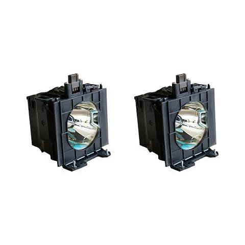 Osram lampe de rechange pour projecteur Panasonic ET-LAD40W–PANASONIC PT-D4000(Lot de 2), PT-D4000E (Lot de 2), PT-D4000U (Lot de 2), pt-fd400, pt-fd400(Lot de 2)