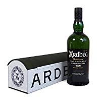 Gents Whisky Delights Food Gift Hamper with Ardbeg Whisky and Ardbeg Tumbler - Gift ideas for Him, Valentines, Birthday, Anniversary, Dad, Grandad, Husband, Fiancee, Corporate, Business by Fine Food Store