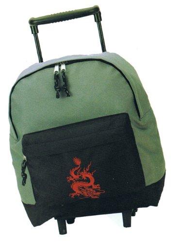 Trolley 1127 sPEAR fashion sac à dos avec roulettes teleskopzugstange en 4 couleurs et dimensions : env. 26 x 31 x 16 cm Marron Marron