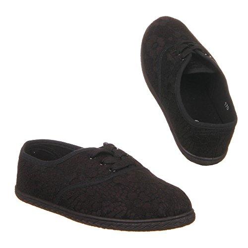 Damen Schuhe, 170, HALBSCHUHE Schwarz