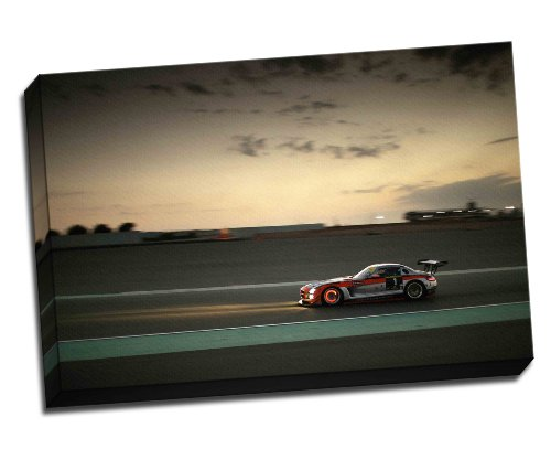 mercedes-cls63-amg-profile-canvas-art-print-poster-30x-20-inches