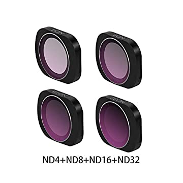 RONSHIN MCUV CPL NDPL ND64-PL ND32-PL ND4 ND8 Camera Lens Filter Kit for DJI OSMO POCKET Gimbal Accessories ND4 ND8 ND16 ND32