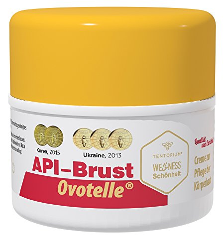Anti-aging hautstraffende Creme für Frauen: API-BRUST - 50ml speziell entwickelt für falten-freies Dekollete, straffen Busen