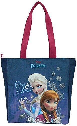 Disney Frozen - Il regno di ghiaccio Ragazze Borsa - blu Bleu marine