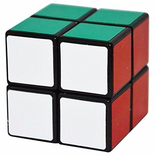 Coolzon® 2x2x2 Magique Cube Cerveau Teasers Jouet Puzzle Speed Cube 50mm, Noir