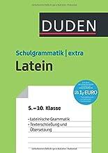 Duden Schulgrammatik extra - Latein: Lateinische Grammatik - Texterschließung und Übersetzung (5.-10. Klasse) (Duden - Schulwissen extra) hier kaufen
