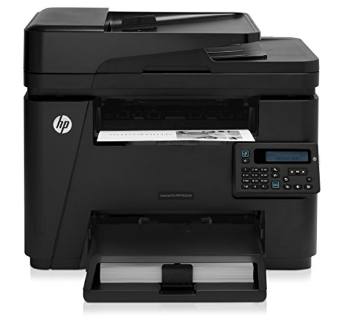 HP LaserJet Pro M225dn Laser Multifunktionsdrucker (Drucker, Scanner, Kopierer, Fax, LAN, HP ePrint, Apple Airprint, 600 x 600 dpi) schwarz