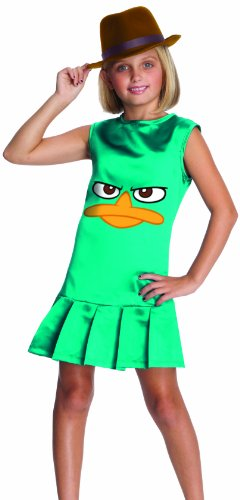 Girl's Phineas and Ferb's Sassy Agent P Costume
