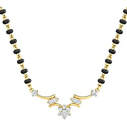 Dishis 18 Kt Yellow Gold Svadha Mangalsutra