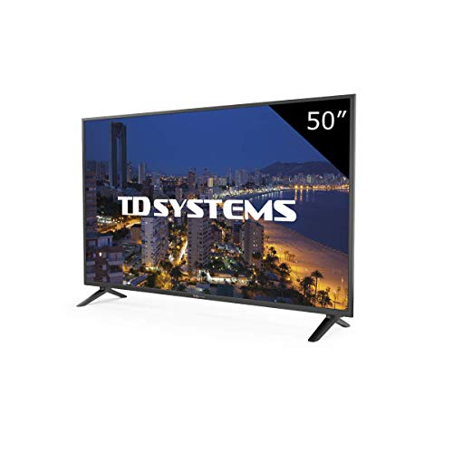 TD Systems K50DLP8F - Televisor Led 50 Pulgadas Full HD, resolución 1920 x 1080, 3x HDMI, VGA, 2x USB...