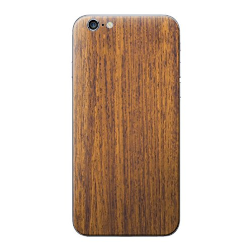 Cruzerlite Wood Skin for the Apple iPhone 6 Plus - Retail Packaging - Walnut (Back Only) Saddle Teak