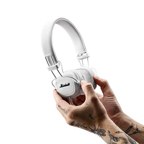 Marshall Major III On-Ear Headphones (White) Image 6