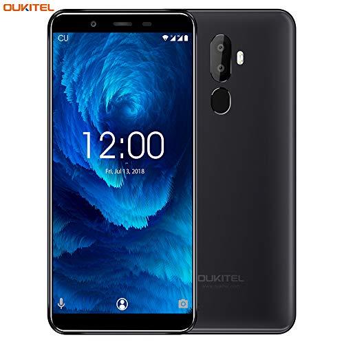 "OUKITEL U25 Pro –Teléfonos Móviles 4G Pantalla Completa de 5.5\"" Full HD con Antihuellas Octa-Core 4 + 64GB SIM Doble Cámara Dual 13MP+2MP Android 8.1 Smartphone Libres con Huella – Nergo"