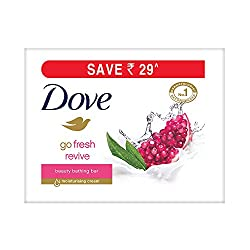 Dove Go Fresh Revive Beauty Bar, 100g (Pack of 3, Now at Rupees 29 off)