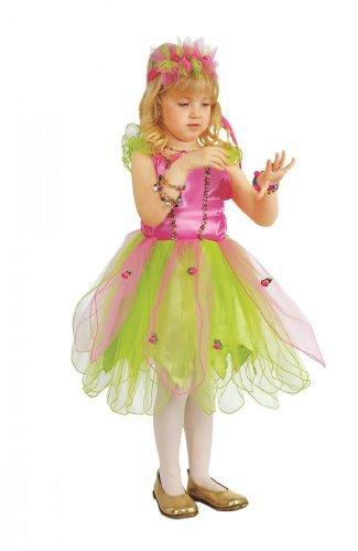 Kleine Garten Fee, Elfen Kleid (Garten Fee Kind Kostüm)