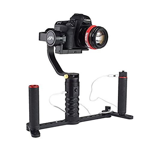 AFI VS-3SD Handheld 3-Axle Brushless Handheld Steady Gimbal Stabilizer with Holder for DSLR Cameras compared to Zhiyun Feiyu Tech