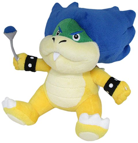 Super Mario - Ludwig Von Koopa Plush - Little Buddy - 18cm 7""
