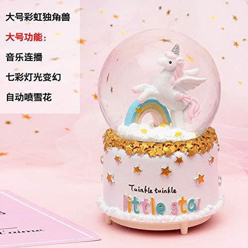 DS-LY Spieluhr Kristallkugel trifft Mädchen Freundin Geburtstagsgeschenk Karussell Taiwan