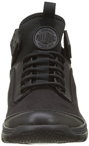 Palladium Desvilles, Sneakers Basses Mixte Adulte Noir (Black/bwr)