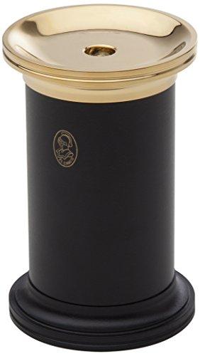 El Casco Zylinderspitzer - Schwarz & 23-Karat vergoldet