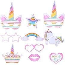 Amazon.es: photocall cumpleaños unicornio