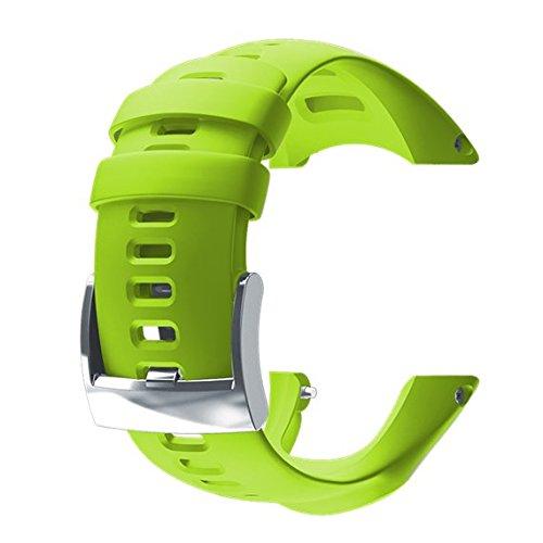 Suunto Ambit3 Run Silicone Cinturino, Lime, Taglia Unica