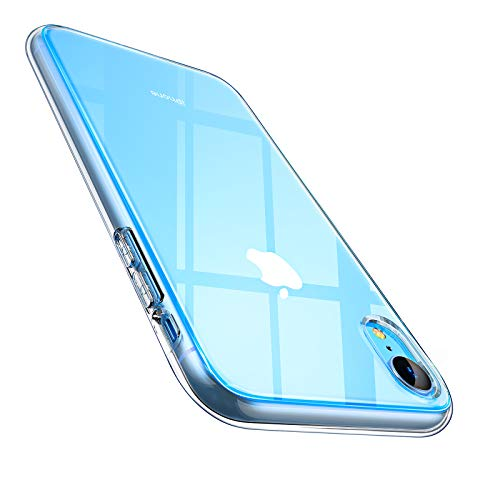 AINOPE 064CS24874 Hülle kompatibel iPhone Xr, Anti-Kratzer Handyhülle Schock-Absorption Phone Case Phone Cover für iPhone Xr iPhone 6.1 inch MEHRWEG (Transparent)-MEHRWEG