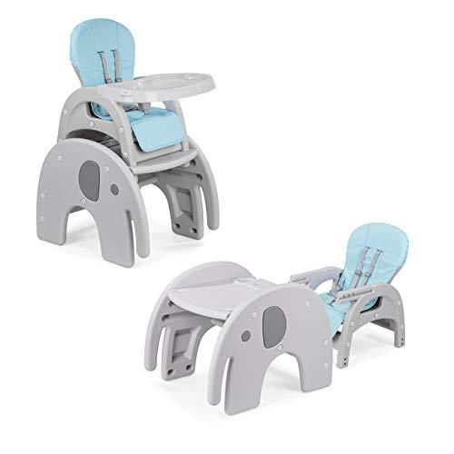 Baby Vivo Chaise Haute Rglable Pour Bb Enfant 2en1 Multifonctionnel Avec Tablette Transformation Comme Une Table