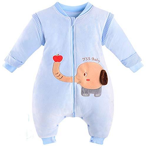 CWLLWC Gigoteuses Bébé,Split Chaud épaissi Jambe Gigoteuse Automne-Hiver Enfant Anti-Coup de Pied de bébé câlin par 0-1 Ans