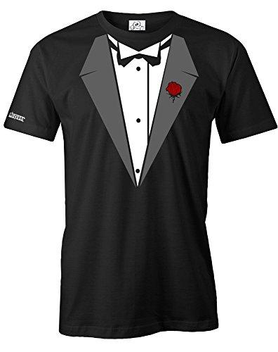 DON VITO SMOKING - HERREN - T-SHIRT in Schwarz by Jayess Gr. XL (Krawatten Und Für Männer T-shirt)