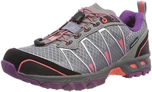 CMP Damen Altak Traillaufschuhe, Grau (Stone-Red Fluo-Purple 13be), 40 EU