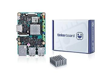ASUS Tinker Board Geliştirme Kartı (Rockchip Quad-Core RK3288, 2GB DDR3, 4x USB 2.0, RTL GB LAN)