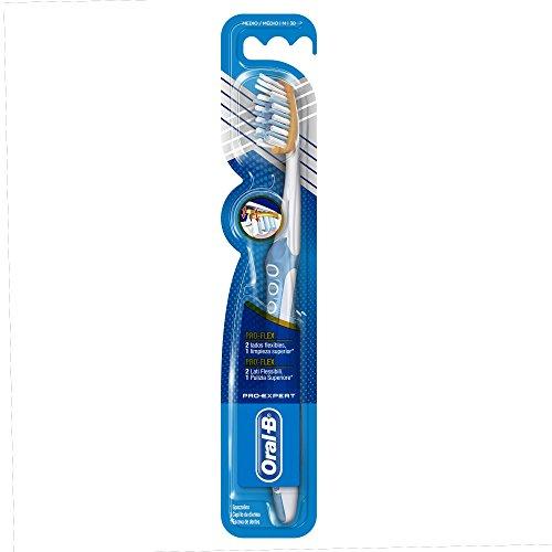 Oral-B Pro-Expert Pro-Flex - Cepillo de dientes manual medio, surtido: colores aleatorios
